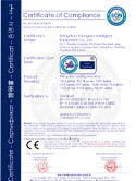 Filling and Sealing Machine Certificate of CE